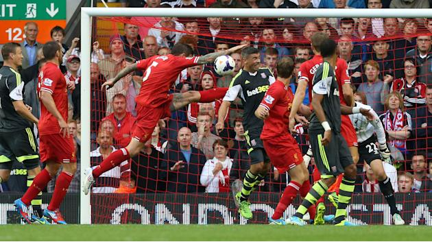 Soccer - Barclays Premier League - Liverpool v Stoke City - Anfield