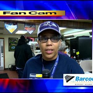 Fan Cam:  Ravens Impressive Win Over The Falcons