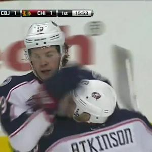 Columbus Blue Jackets at Chicago Blackhawks - 03/27/2015