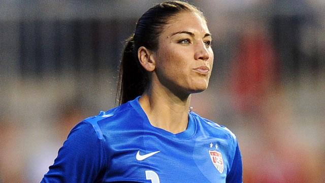 Gold Medalist Hope Solo Reveals Her 'Olympics Secret'