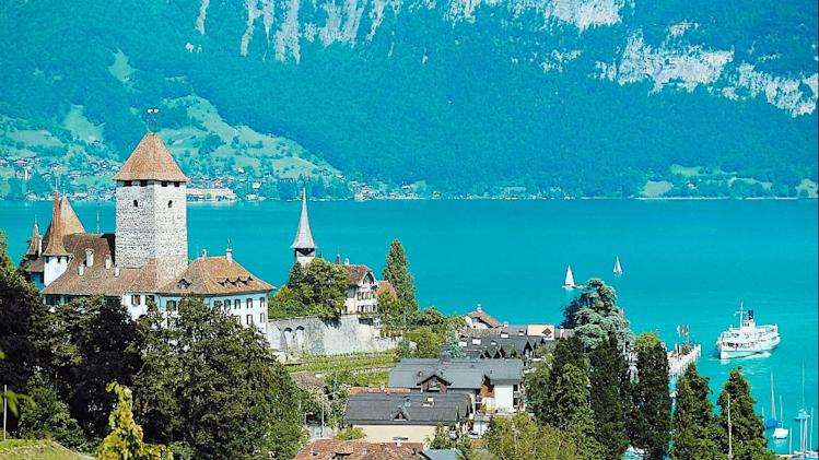 Idyllic Switzerland, perfect sets of a Yash Chopra film