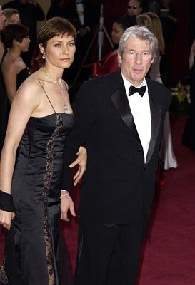 Carey Lowell and Richard Gere 75th Academy Awards - 3/23/2003