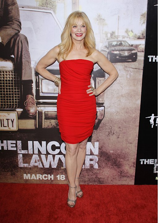 Lincoln Lawyer LA Premiere 2011 Frances Fisher