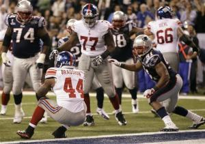 Giants top Pats for 2nd Super Bowl in 4 years