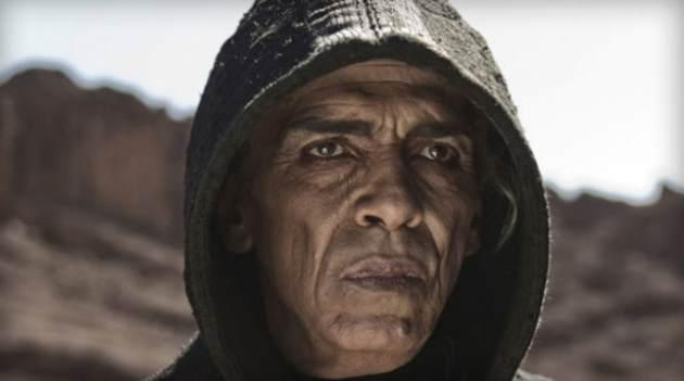 Mohamen Mehdi Ouazanni as Satan on the History Channel miniseries 'The Bible' -- History Channel
