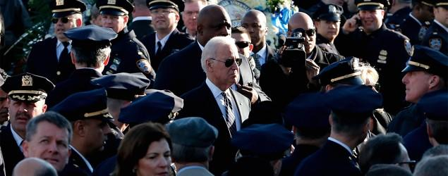 Biden: NY officers' deaths touched soul of nation
