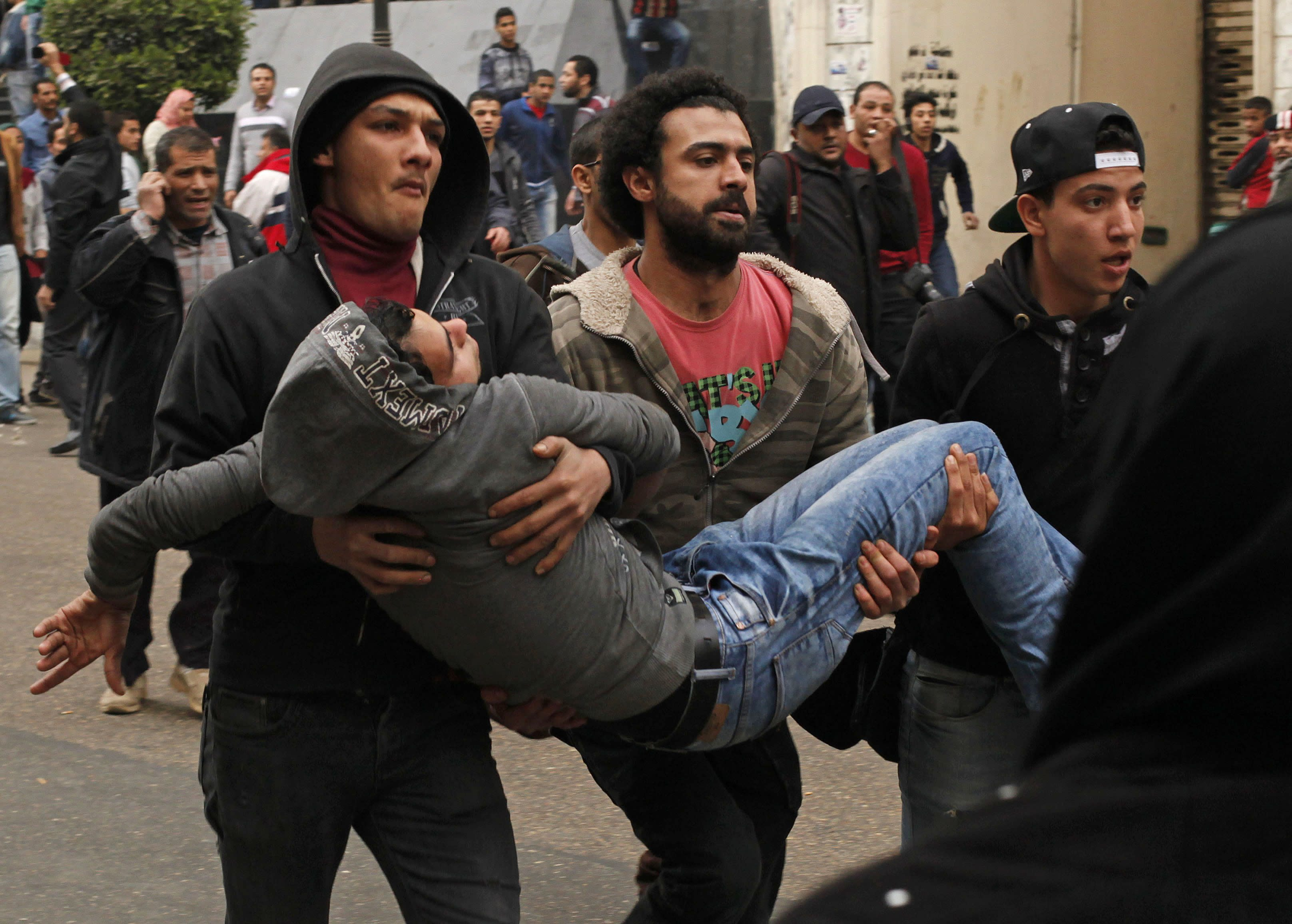 Deadly clashes in Egypt
