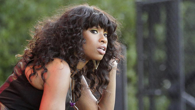 FILE - In this July 11, 2012 photo, singer Jennifer Hudson is seen on stage during her performance at the Taste of Chicago. On Tuesday, July 24, 2012, William Balfour, the man convicted in the slayings of Hudson's mother, brother and 7-year-old nephew, is scheduled to be in court in Chicago where his attorneys are expected to ask the judge to grant Balfour a new trial. If that request is denied, Judge Charles Burns could immediately sentence Balfour.  (AP Photo/Nam Y. Huh, File)