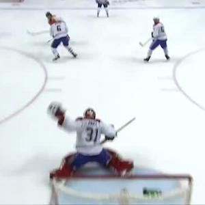 Carey Price snags a wrister from Giroux