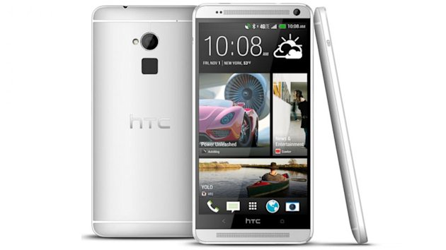 HTC One Max: Mammoth Screen Meets Awkwardly Placed Fingerprint Reader (ABC News)