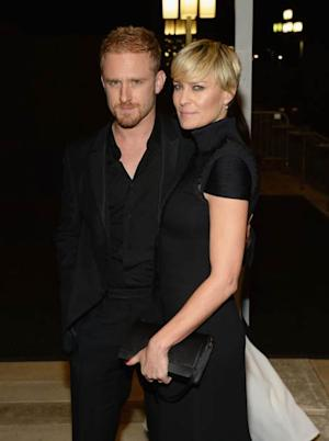 Ben Foster and Robin Wright -- Getty Images