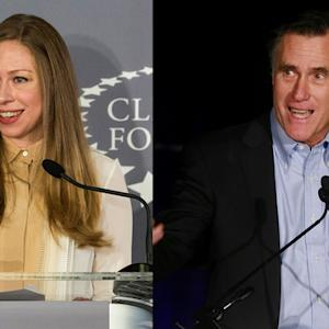 Awkward? Mitt Romney, Chelsea Clinton to rub elbows at dinner