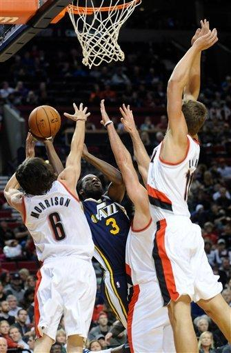 Batum, Lillard lead Blazers over Jazz, 120-114