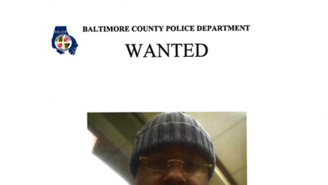 This image provided by the Baltimore County Police Dept. shows a wanted poster of Ismaaiyl Brinsley. The gunman who fatally ambushed two New York City police officers in their squad car had a long criminal record, a hatred for police and the government and an apparent history of mental instability that included an attempt to hang himself a year ago, authorities said Sunday, Dec. 21, 2014. (AP Photo/Baltimore County Police Dept.)