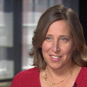 Susan Wojcicki on competing with sister
