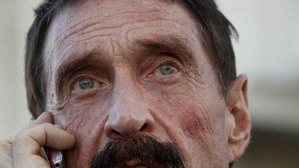 John McAfee Just Got Out of Jail, and He Might Even Be Going Home
