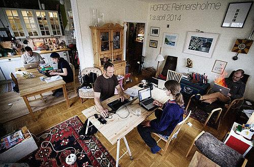 Better Together: 'Hoffice' Makes Working from Home More Social by Filling Your Apartment with Strangers