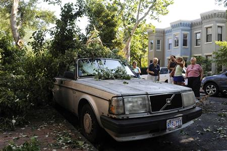Deadly Storms Leave Millions Without Power In Eastern U.S