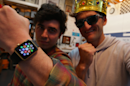 My spray-painted gold Apple Watch has been seen over 1 million times