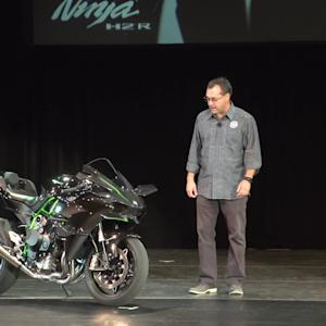 Kawasaki Ninja H2R Presentation Video from AIMExpo 2014