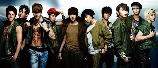 Super Junior Places Third on Oricon