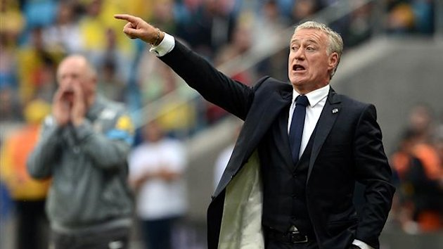 Deschamps France Brazil 2013