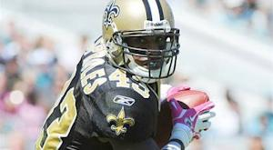 Saints RB Sproles (hand) out for Monday night