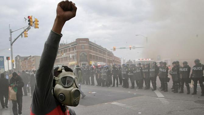 Riot, looting prompt state of emergency, curfew in Baltimore