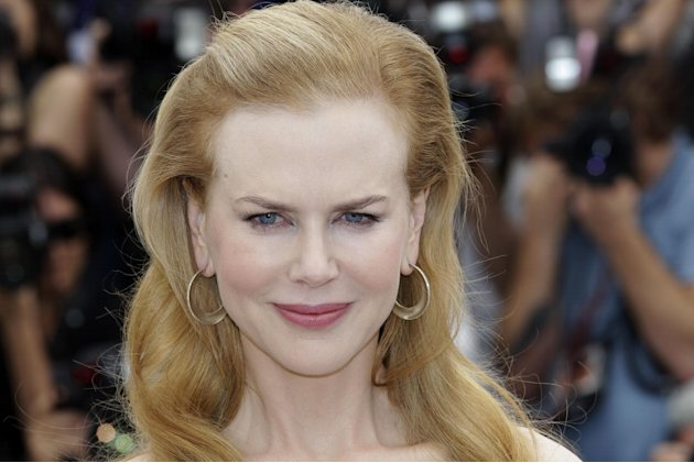 Actress Nicole Kidman poses for photographers during a photo call for Hemmingway and Gellhorn at the 65th international film festival, in Cannes, southern France, Friday, May 25, 2012. (AP Photo/Lione