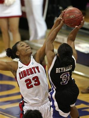 Liberty women win Big South again, 81-73 over HPU