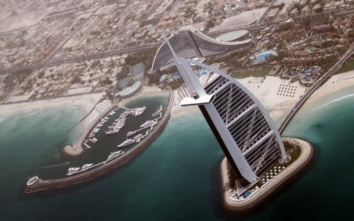 The luxury Burj Al-Arab luxury in Dubai. The US charge d'affaires in Abu Dhabi urged the United Arab Emirates on Friday to free American Zack Shahin, who is in the Dubai Central Jail on fraud charges and has been on a hunger strike since May 14