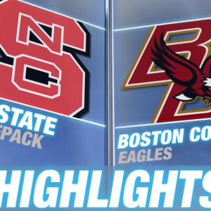 NC State vs Boston College | 2014-15 ACC Men's Basketball Highlights