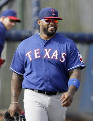 So much new for Fielder in first Rangers workout