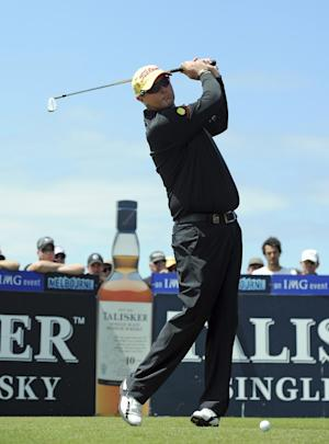 Lyle, surprising himself, still at Royal Melbourne