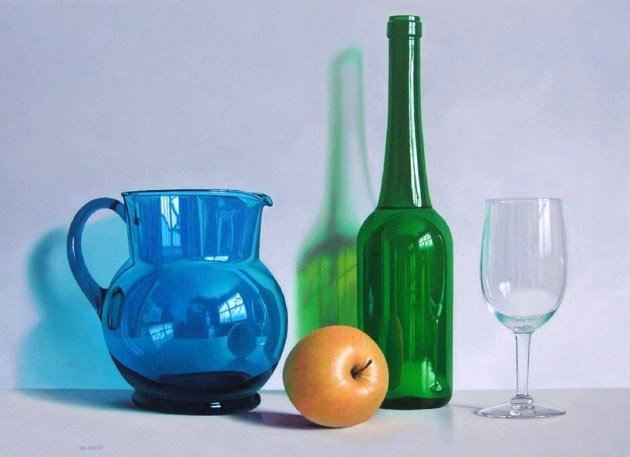 Hyperreal art tricks the eye