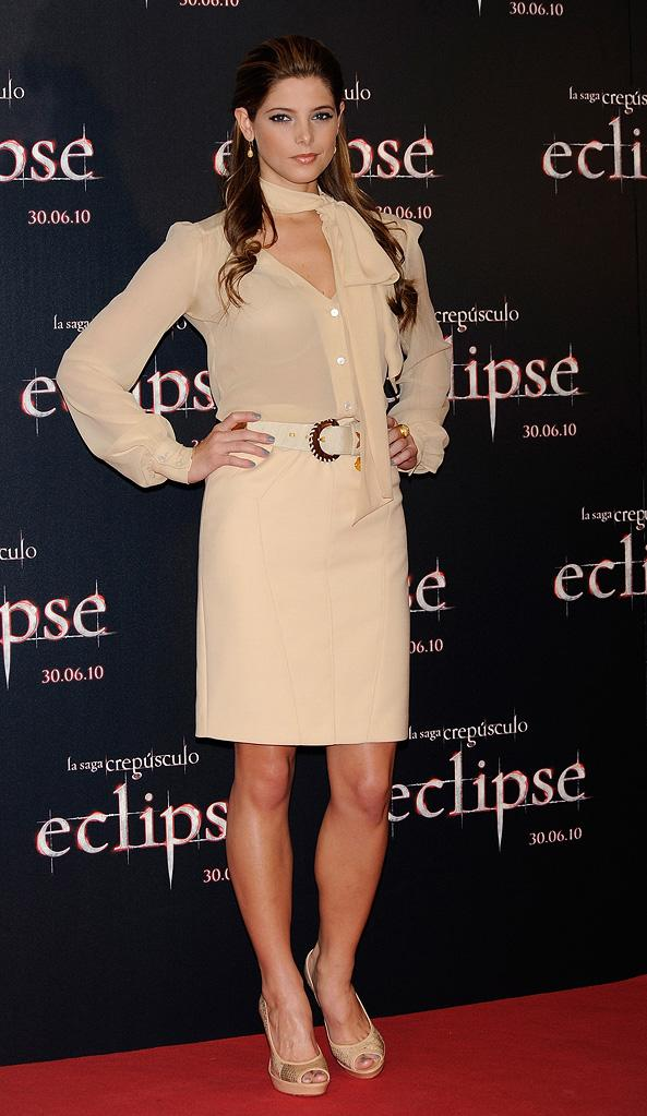 The Twilight Saga Eclipse International Press Events 2010 Ashley Greene
