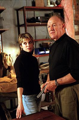 Rebecca Pidgeon and Gene Hackman in Warner Brothers' Heist
