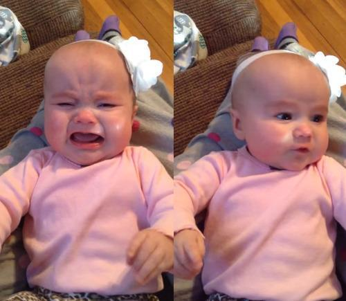 The Song That Magically Stops This Baby From Crying