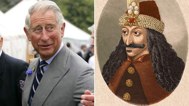 Prince Charles Says Hes Related to Dracula (ABC News)