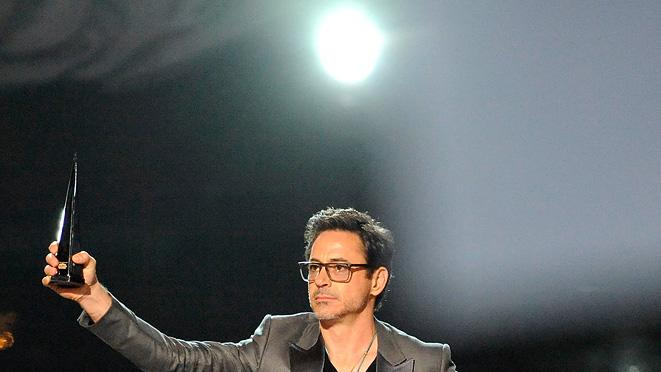 Spike 2011 Scream Awards Show Photos Robert Downey Jr.