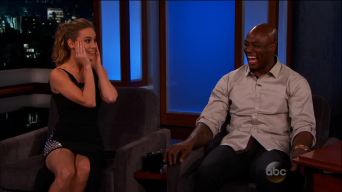 Brie Larson's Embarrassing Moment with Super Bowl Champ