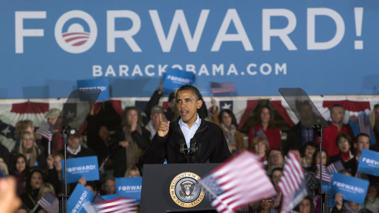 THE RACE: Both Obama, Romney cite new jobs data