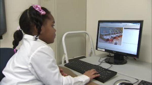 Local 7-year-old creates her own video game app