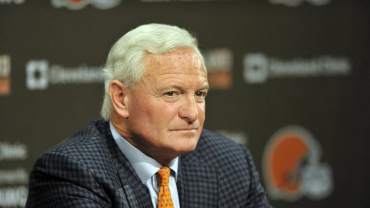 NFL: Cleveland Browns-Rob Chudzinski Press Conference
