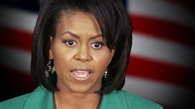 Michelle Obama mixing politics and religion