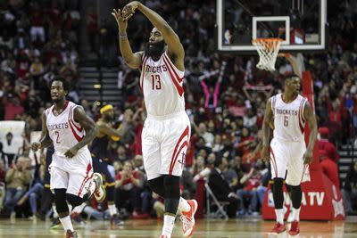 James Harden, Stephen Curry are engaging in a great MVP battle