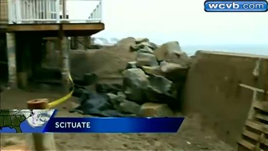 Scituate residents prepare for storm