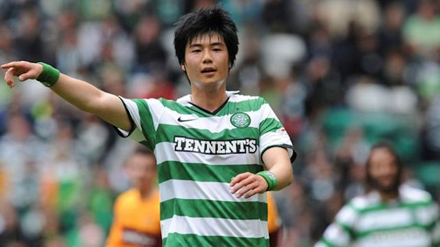 Celtic's Ki Sung Yueng points