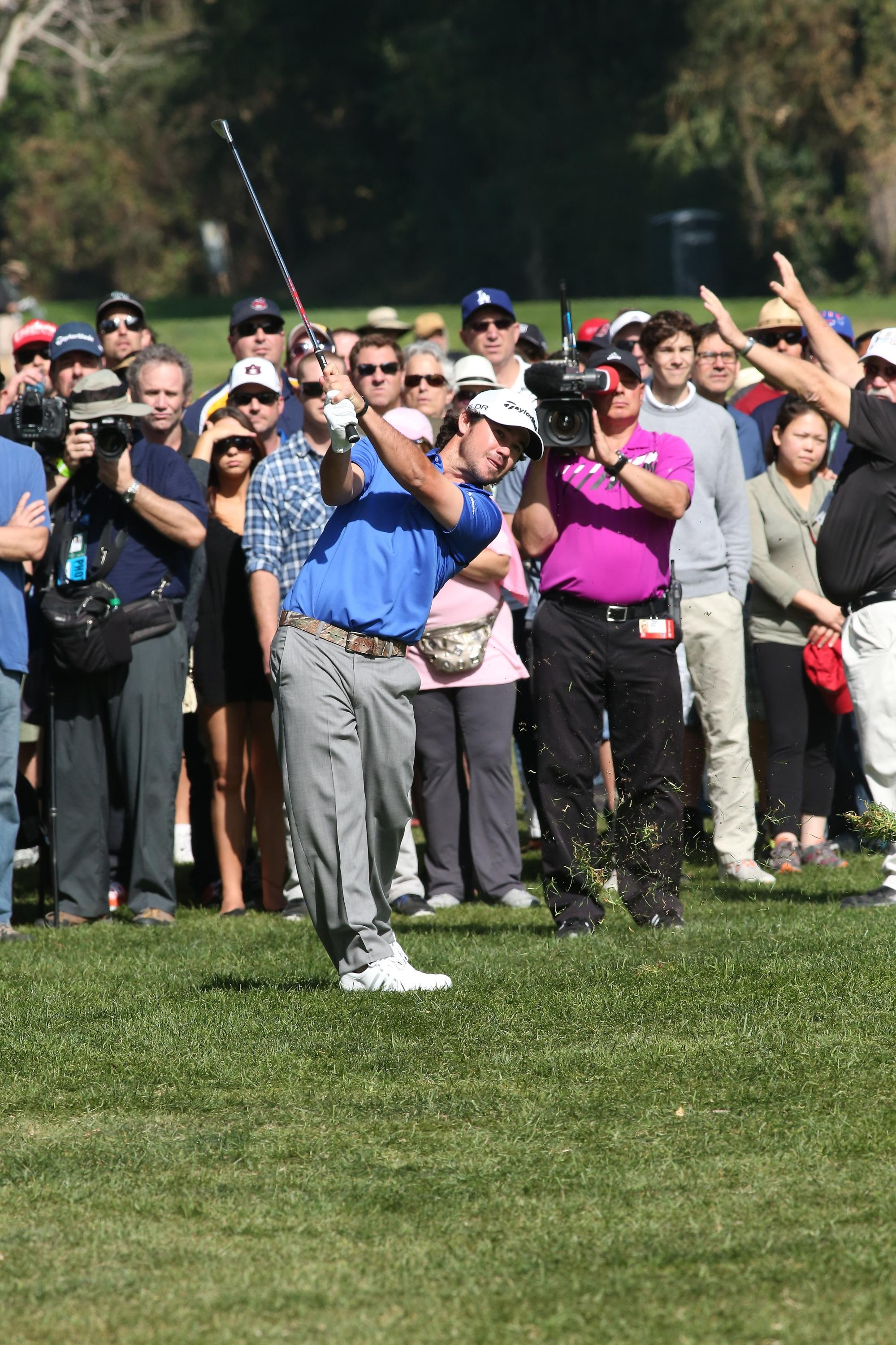 Brian Harman makes two aces in Barclays final round