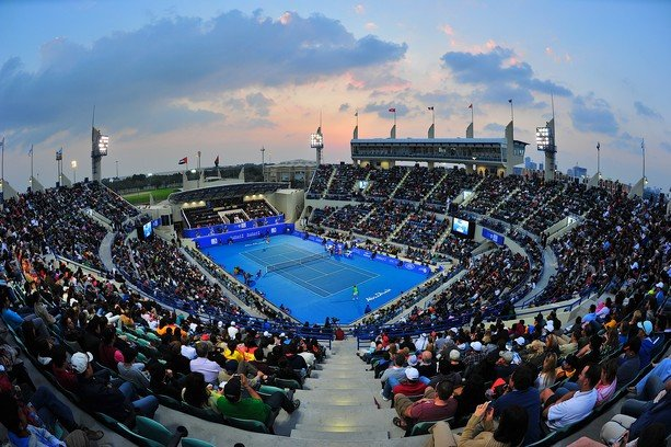 Tennis Arena in Abu Dhabi